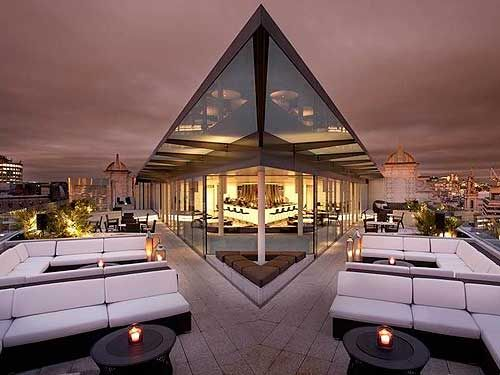 Top five rooftop bars in London #WorkspaceVision #spaceswelove #hospitality