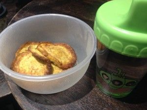 Bananplättar: 1 ägg 1/3 banan smör (gradde och bovete om man vill) Jag kommer addera lite kokosmjölk och gelatin pulver...