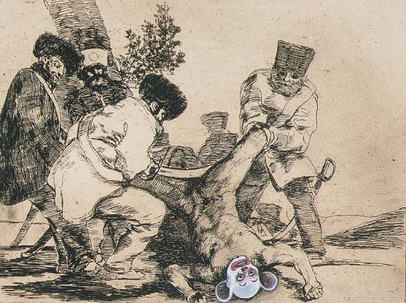 Chapman Brothers Goya Etching