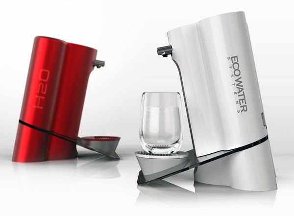 Eco Water Systems Water Purifer- I like the angle this is at
