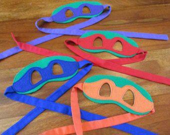 Teenage Mutant Ninja Turtles / Masks / Children Masks / Costume Masks / Ninja Turtles