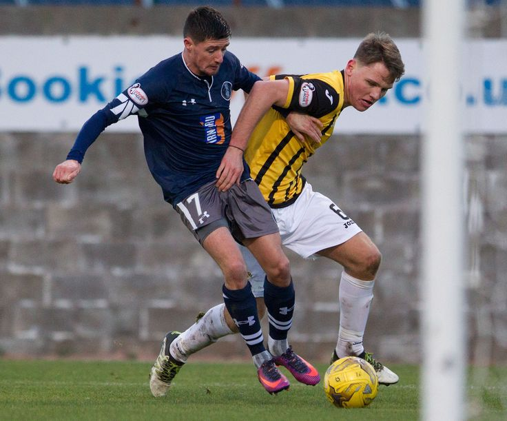 East Fife's Jason Kerr in action during the Ladbrokes League One game between East Fife and Queen's Park.