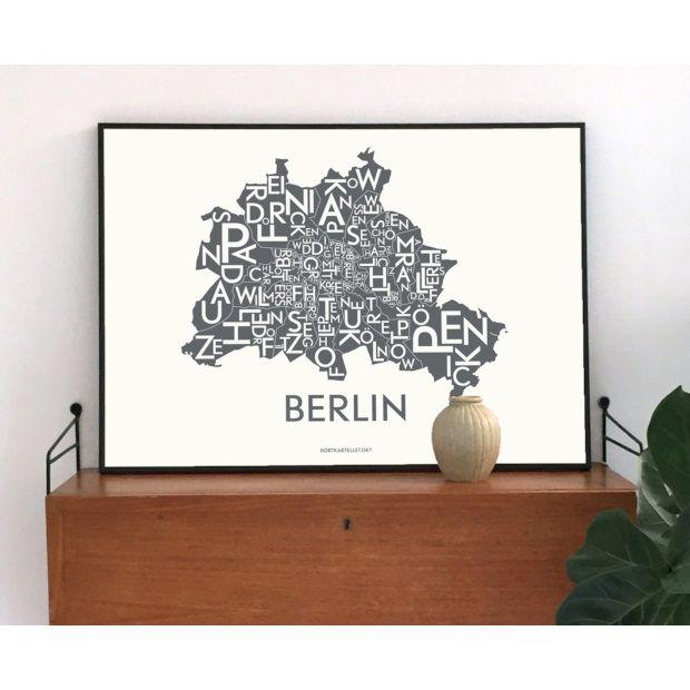 Kortkartellet Poster Berlin Multi Special Edition - 50 x 70 cm - afbeelding 2