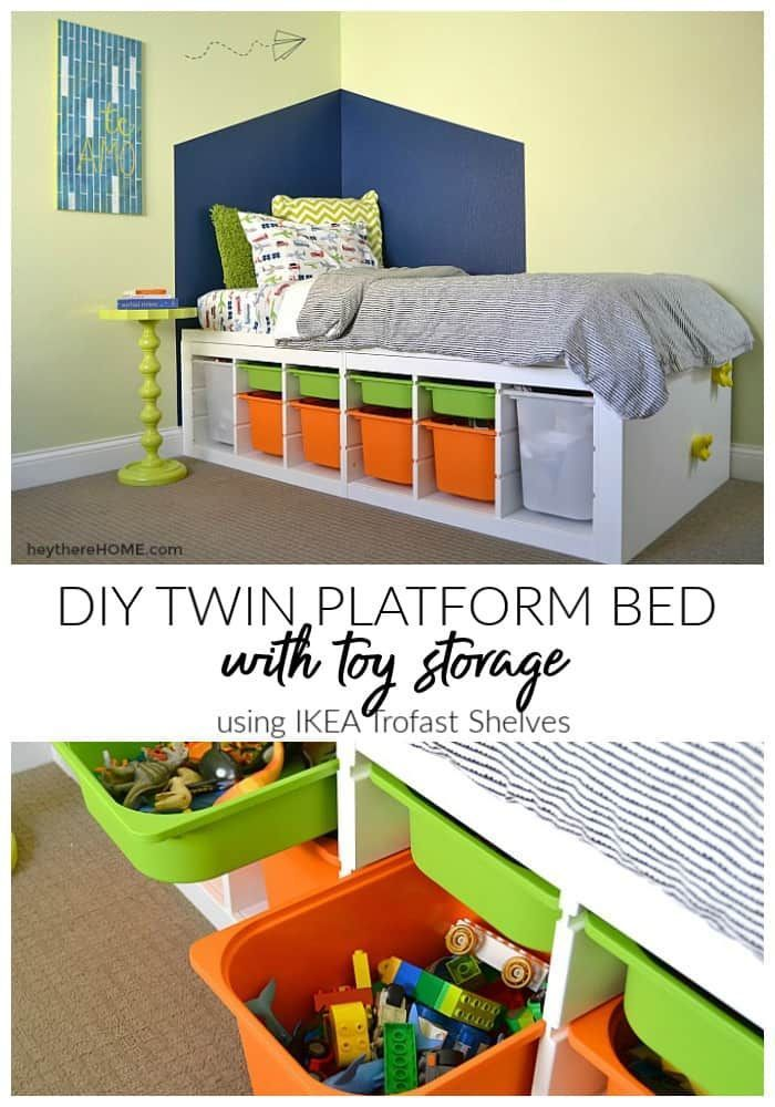Creative Ideas How To Build A Platform Bed With Storage Build
