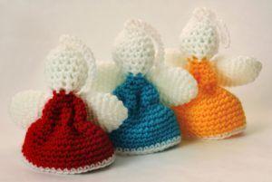 Angel Christmas Amigurumi Pattern Crochet Toy Baby