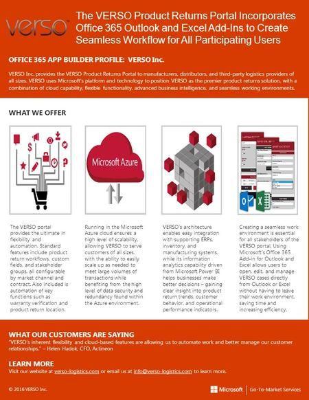 office 365 brochure