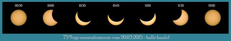 Sonnenfinsternis vom 20.03.2015 über Halle (Saale)
