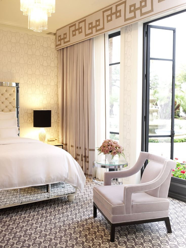Awesome Glamorous Hollywood Regency Bedroom By Jamie Herzlinger Part 9