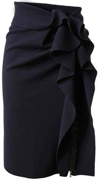 Lanvin pencil skirt by LaPrimaVera
