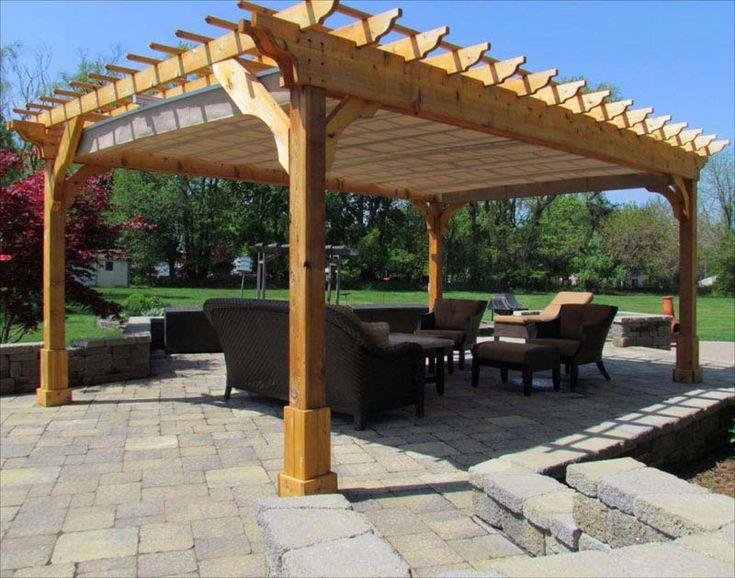 Rochester Freestanding 12 X 12 Pergola Backyard Ideas