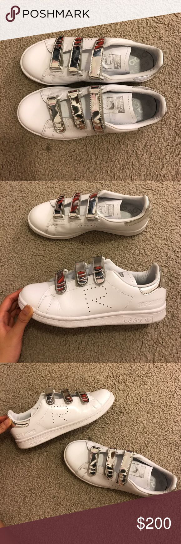 Adidas Stan smiths Raf Simons Lightly worn. Only worn 2-3 times. Men's size US 6 Women's size US 7. Raf Simons Shoes Sneakers