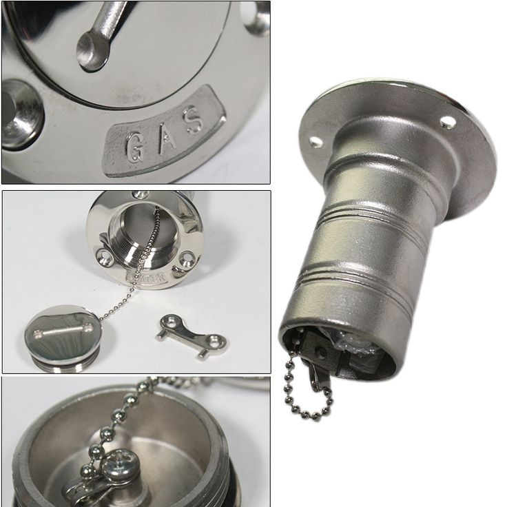 """12.99$  Watch now - http://alizg8.shopchina.info/1/go.php?t=32815165950 - """"38mm 1.5"""""""" Marine Stainless Steel Boat Deck Fill/ Filler Port Gas Fuel Tank W/ Key Cap Power Tool Accessories--M25""""  #buymethat"""