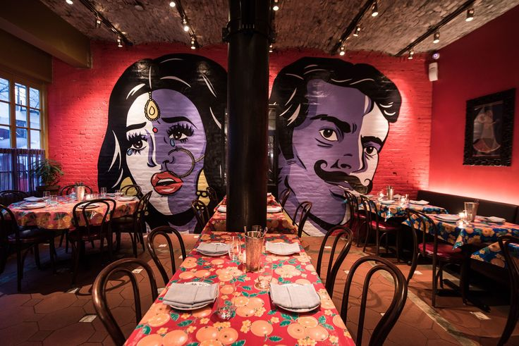 The Darjeeling Limited Inspired Color-Saturated Interiors at the New Bombay Bread Bar
