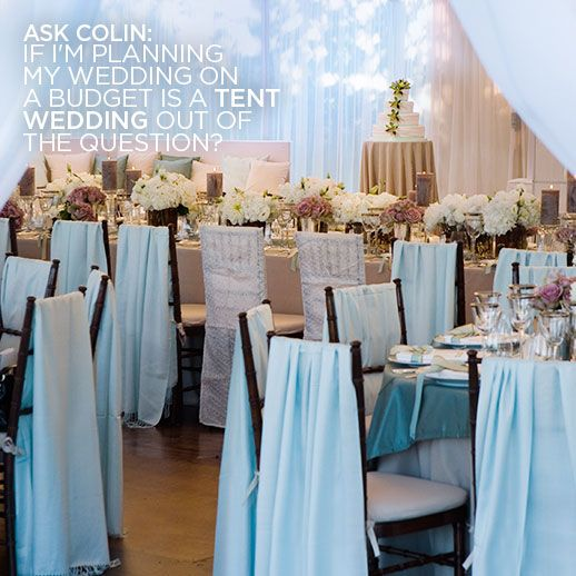 Wedding Planning On A Budget Ideas: See Colin's Answer: If I'm Planning My Wedding On A Budget