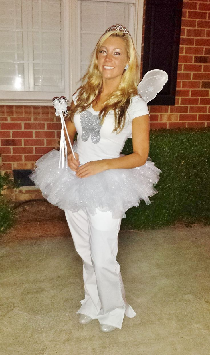 DIY Tooth Fairy Costume =D