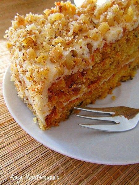 АНГЛИЙСКИЙ МОРКОВНЫЙ ТОРТ (CARROT-CAKE)