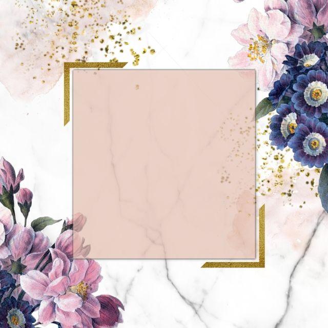 Floral Frame Design Floralframe Golden Frame Golden Png Transparent Clipart Image And Psd File For Free Download Frames Design Graphic Floral Poster Flower Phone Wallpaper