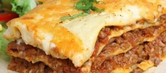 Perfecte lasagna