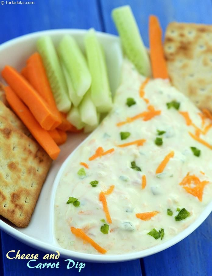 81 best chips and dips images on pinterest chutney dip recipes cheese and carrot dip recipe indian vegetarian recipes by tarla dalal tarladalal forumfinder Image collections