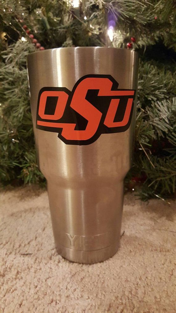 Oklahoma State University Yeti decal
