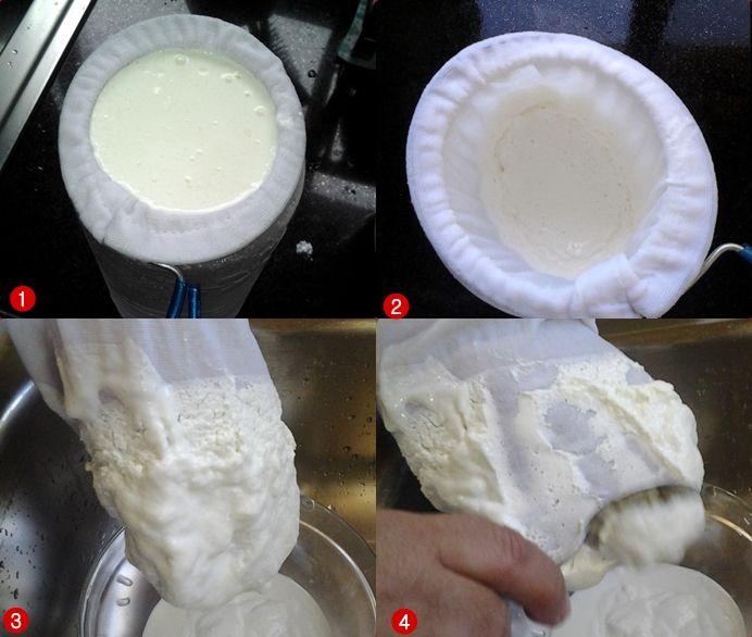 Receita de iogurte grego de Kefir