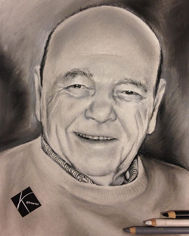 [ISIDRO] A4 - carboncillo y pasteles / Letter size - charcoal & pastels.