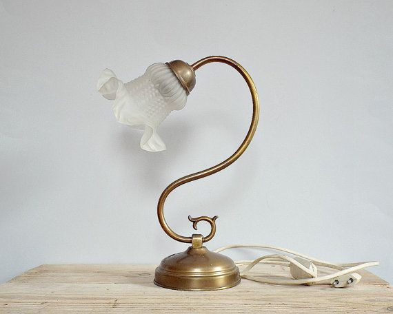 ART NOUVEAU French lamp - vintage antique desk lamp, amazing elegant table  lamp, reading - 138 Best Antique LIGHT Images On Pinterest Vintage Lamps, Lamp