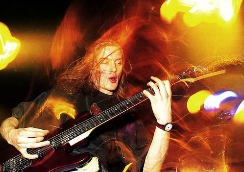 Bill Steer (Carcass) | I consider this English guitarist to be the godfather of Grind and Gore-grind.  Probably had more posters of this guy on my wall in highschool than anyone.  I also fell in love with Ibanez in response to my desire to be just like him back in the early nineties.