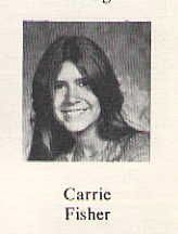 Carrie Fisher 1972 Beverly Hills High School Yearbook