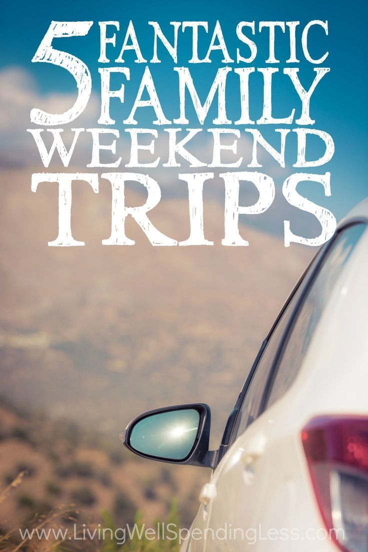Want to plan a family getaway without breaking the bank? Don't miss these five fantastic family weekend trips! From Cape Cod to Monterey Bay, no matter where you live, one of these family-friendly destinations is probably within driving distance. via lwsl