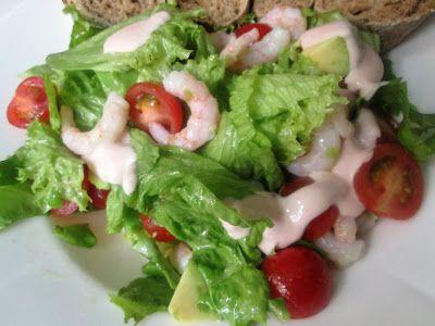 En verden af smag!: Salat a la Rejecocktail