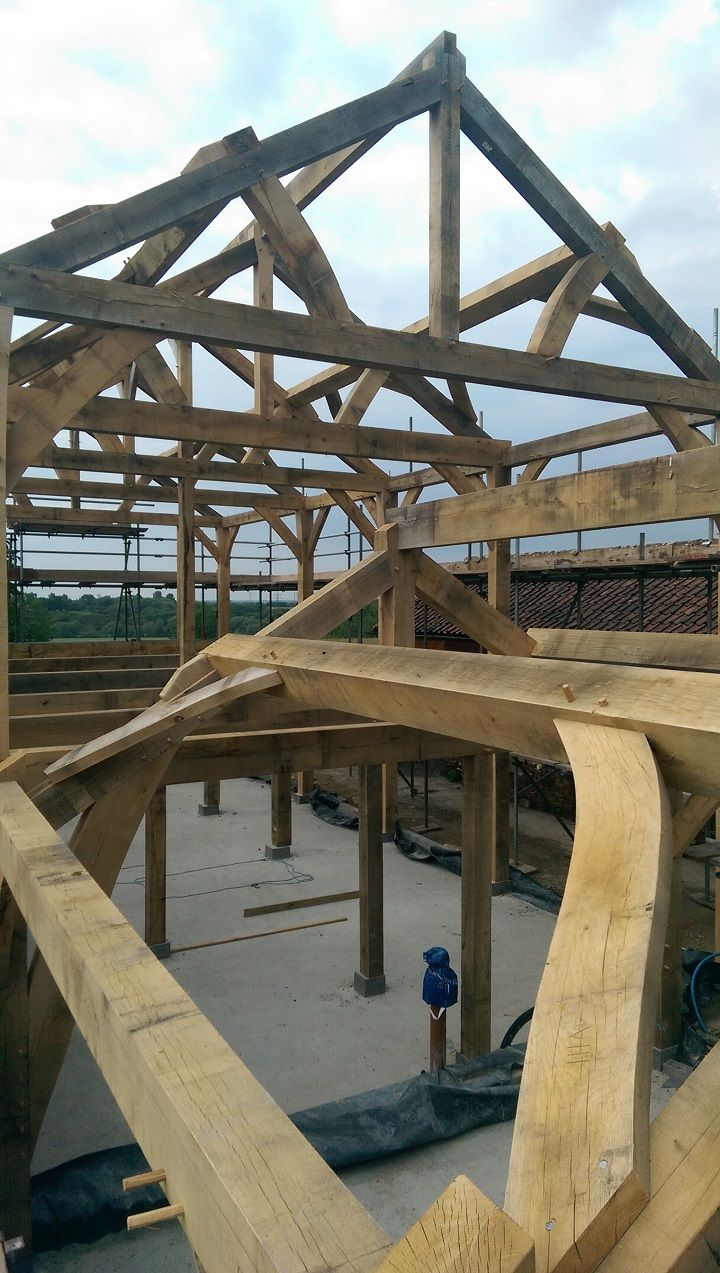 160 best Building a Timber Frame images by Timber Frame HQ on ...