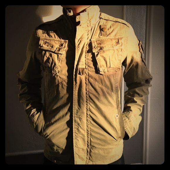 G star raw denim Recolite overshirt denim jacket. Men's military jacket G-Star Jackets & Coats Utility Jackets