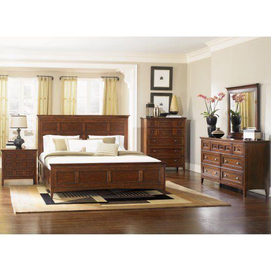 Magnussen Harrison Low Profile Bed Set