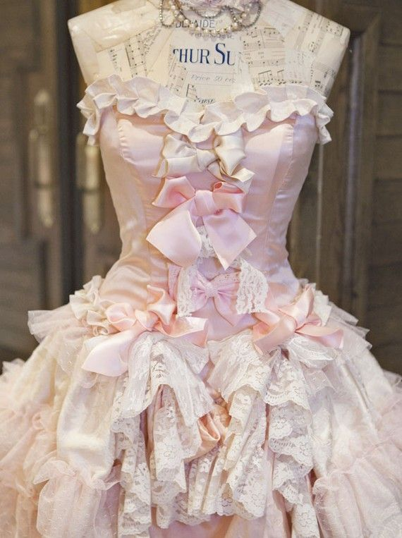 Love this dress form !: Fashion, Style, Shabby Chic, Vintage, Dresses, Dressforms, Pink