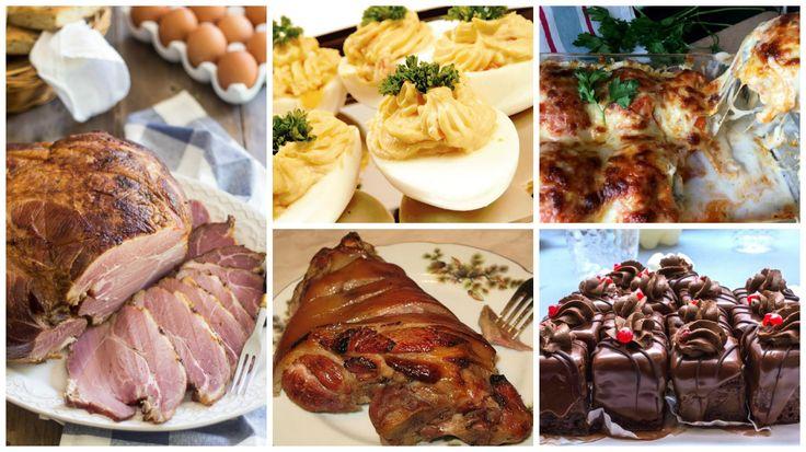 Minden recept, amire Húsvétkor szükséged lehet: sonka, előétel, sütemény és még sok finomság!