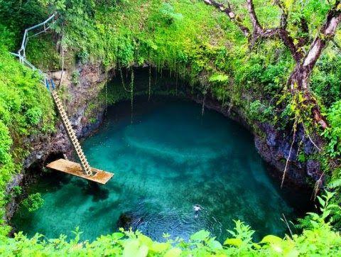 El cenote de Chukumaltik, Chiapas