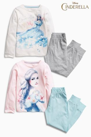 Buy Two Pack Disney™ Cinderella Pyjamas (3-12yrs) from the Next UK online shop