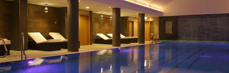 The luxury spa at Armathwaite Hall Country House Hotel in the Lake District has an infinity pool overlooking beautiful gardens, hydrotherapy pool, experience & tropical showers, hot tub, steam room,  aroma room, fitness suite and more...