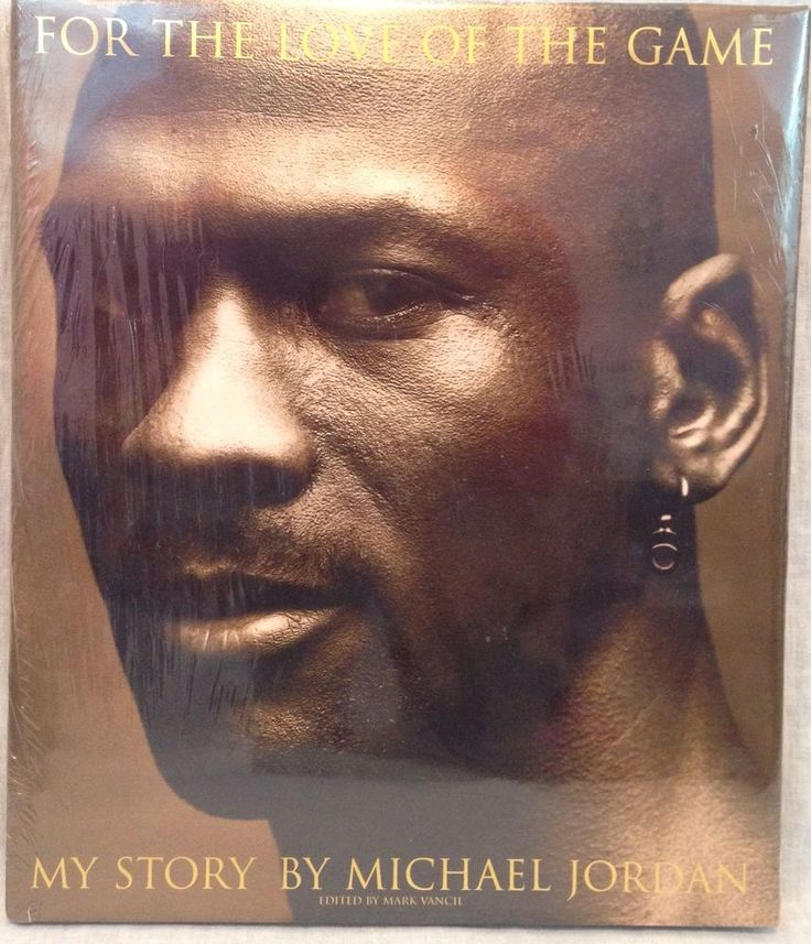 For The Love of The Game – Michael Jordan's autobiography