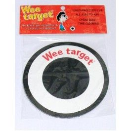 Wee target urinal stickers are great for the potty or mens urinals, clubs and pubs