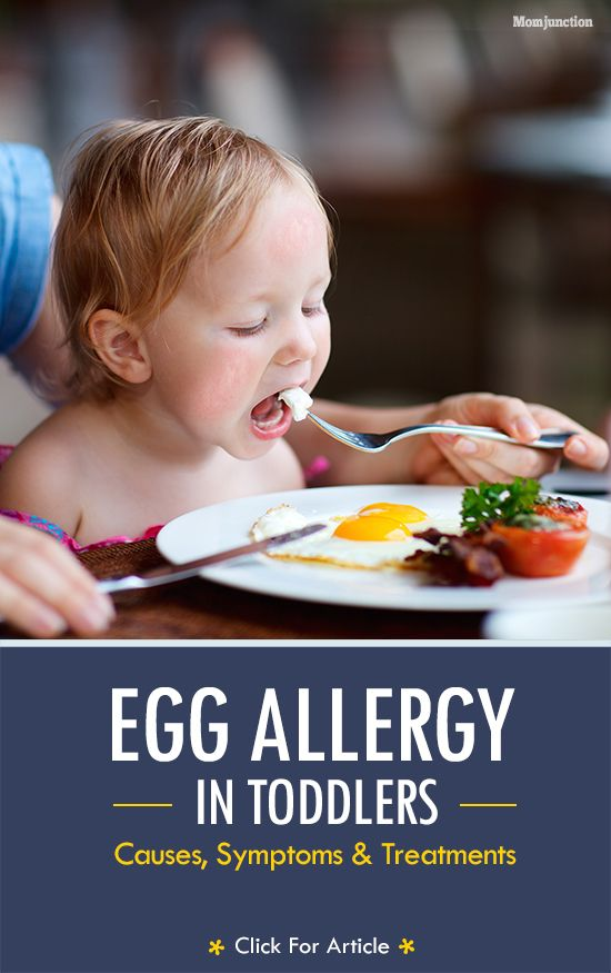 Egg Allergy In #Toddlers - Causes, Symptoms And Treatments: Does he have egg allergies? If you said yes, consider reading our post. Here we talk all about egg allergies, how do they occur, and how they affect your little one.