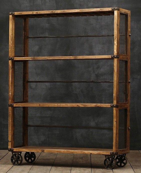 Urban Ladder Kitchen Shelf: Wall Shelf Knick Knack Display Shelf Oak Painted Black