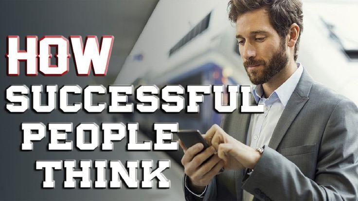 HOW SUCCESSFUL PEOPLE THINK   Motivational Video http://youtu.be/e_brJtdYA90