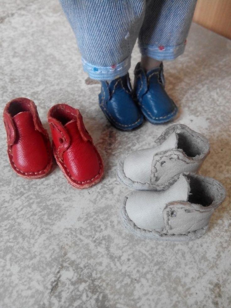 Новые ботиночки для малышек-куколок (Куклы Елены Сусловой)