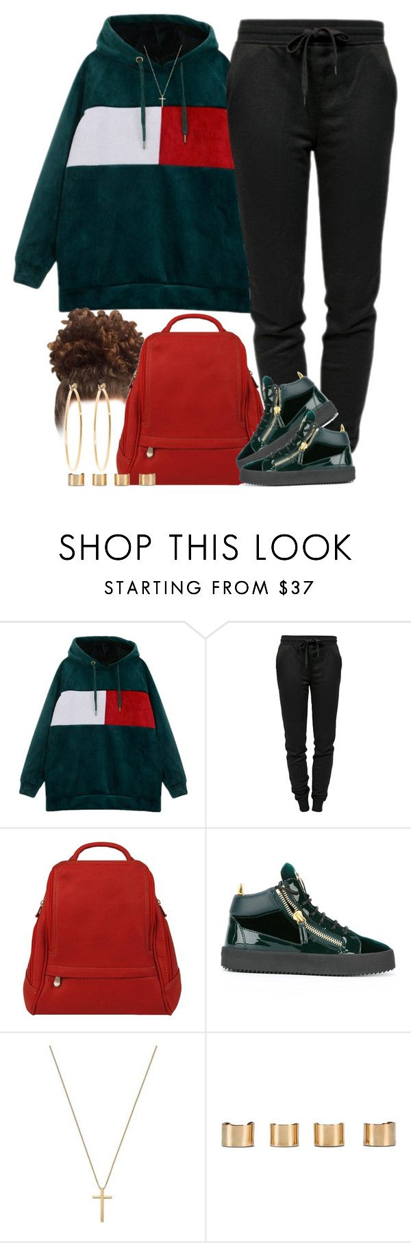 """👩🏽‍🏫"" by livelifefreelyy ❤ liked on Polyvore featuring T By Alexander Wang, Le Donne, Giuseppe Zanotti, Gucci, Maison Margiela and Brooks Brothers"