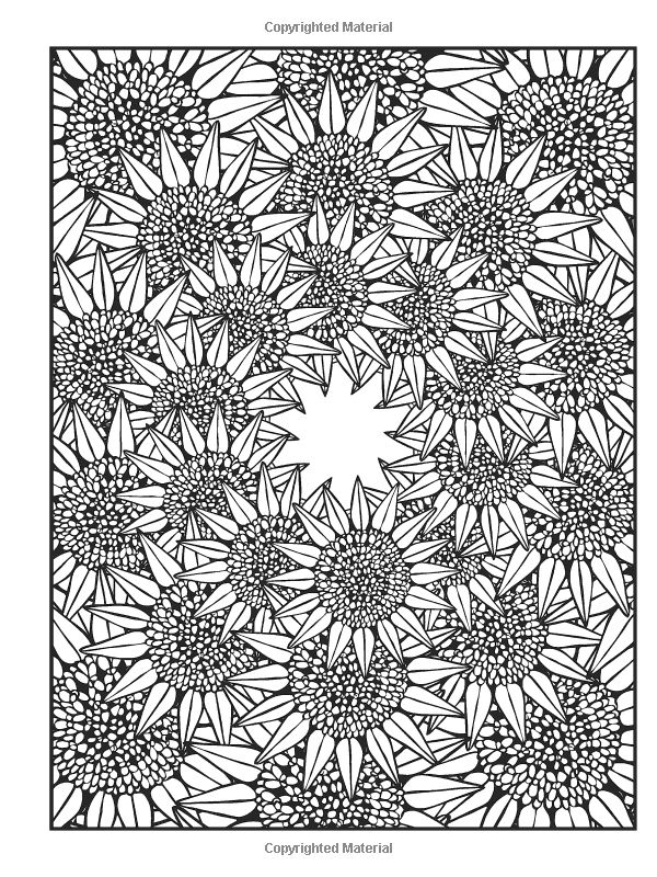 fractal coloring pages for kids - photo#31