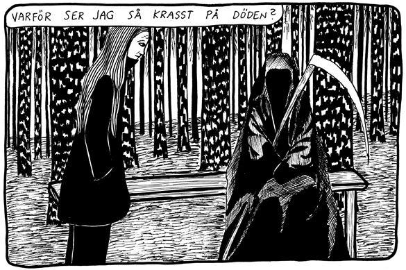 """Ur """"Jag håller tiden"""". Åsa Grennvall"""