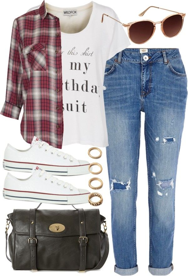 styleselection:  outfit for college by im-emma featuring forever 21 jewelry