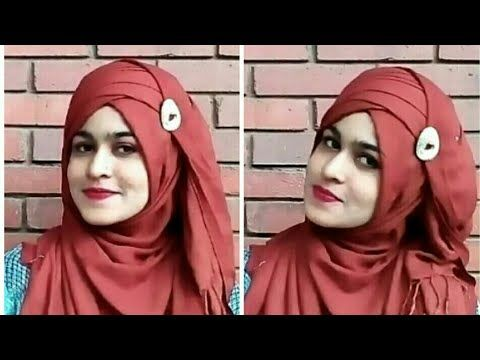 My Everyday Pashmina Hijab style ( হিজাব স্টাইল)  with Full Coverage - YouTube